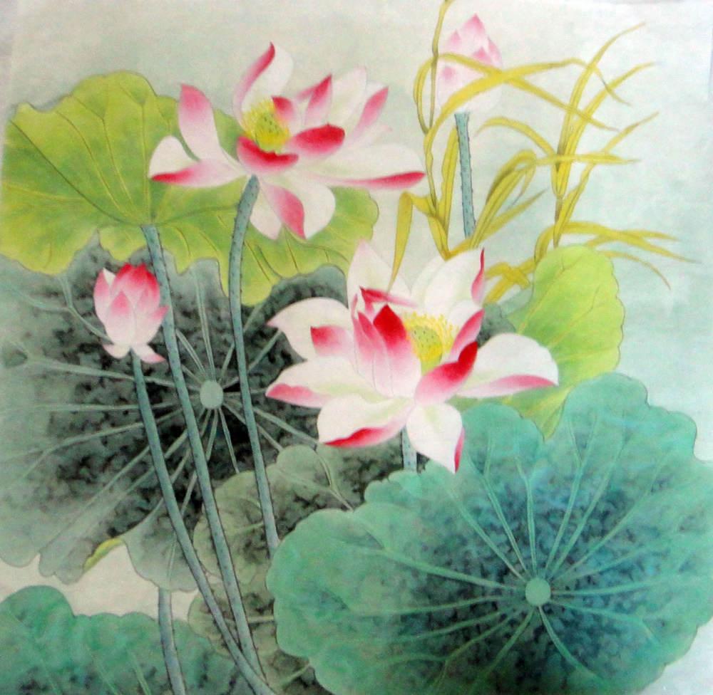 Chinese painting lotus chinese painting cnag234406 artisoo izmirmasajfo