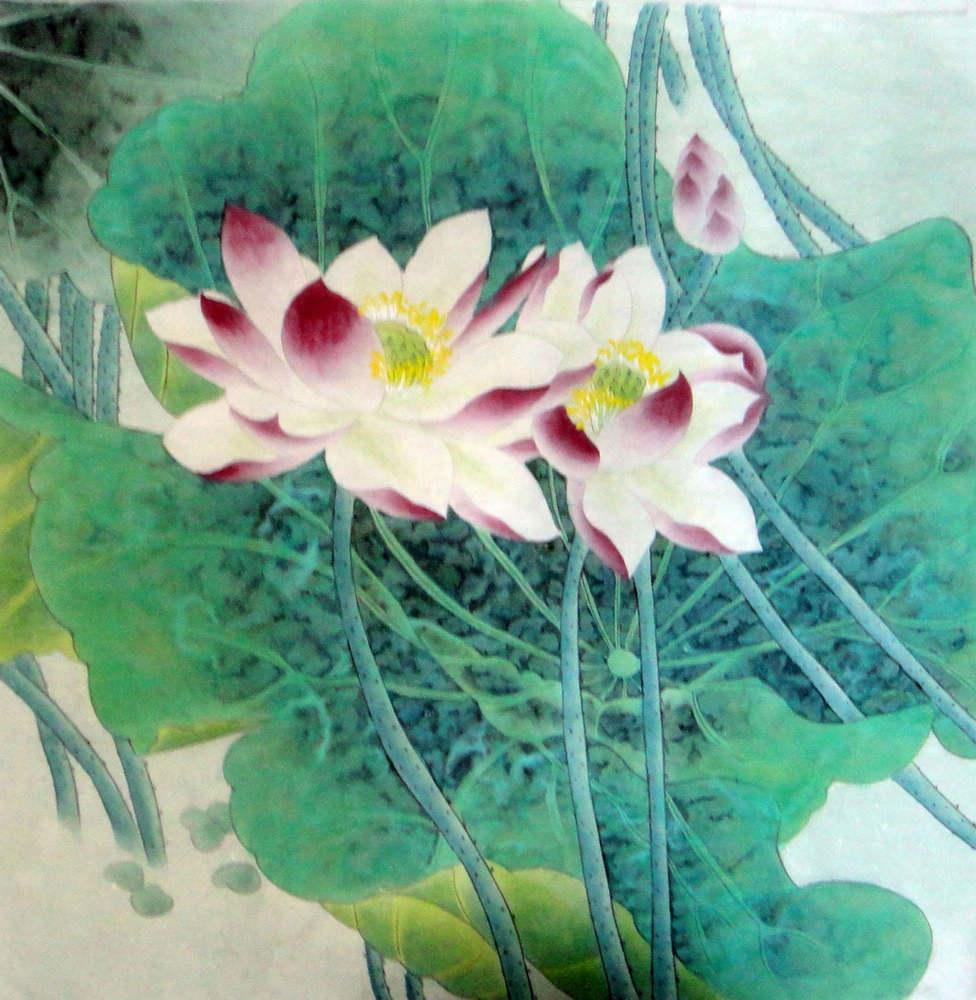 Chinese painting lotus chinese painting cnag234408 artisoo izmirmasajfo