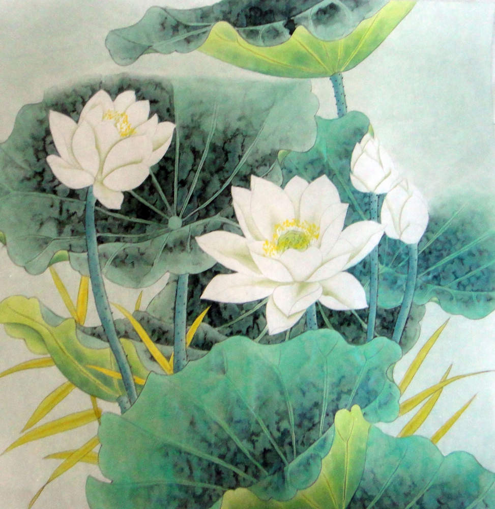 Chinese Painting Lotus Chinese Painting Cnag234410 Artisoo