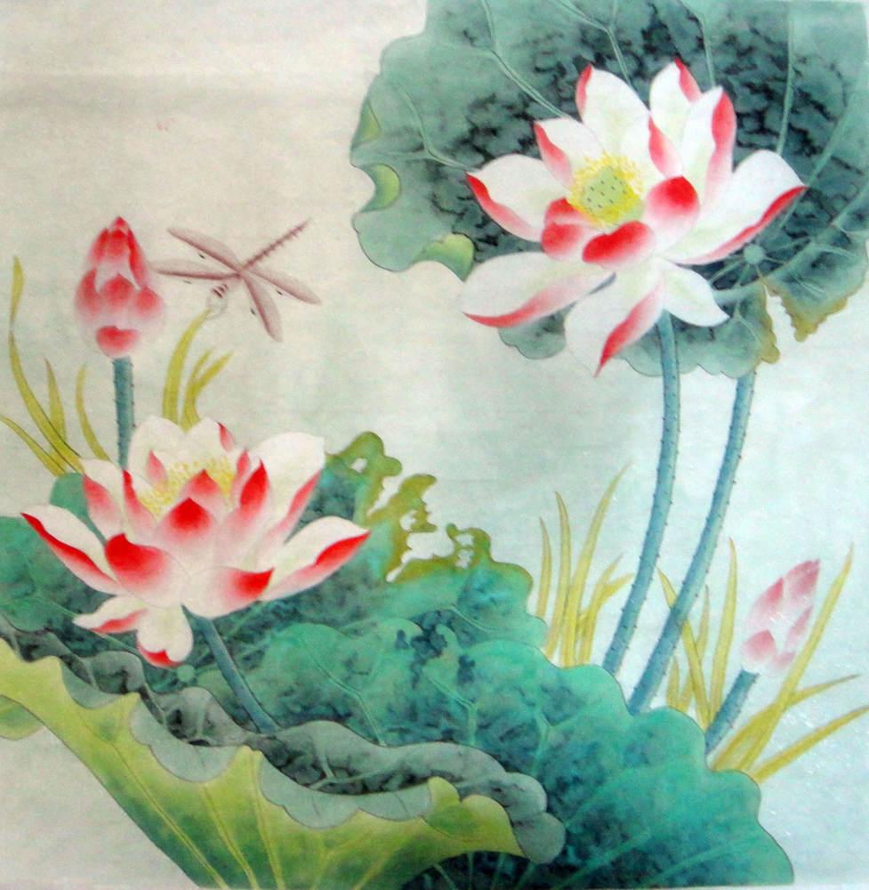 Chinese Painting Lotus Chinese Painting Cnag234413 Artisoo