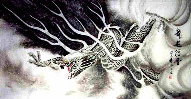 The Symbol of Dragon in Chinese Culture | Chinese Painting Blog