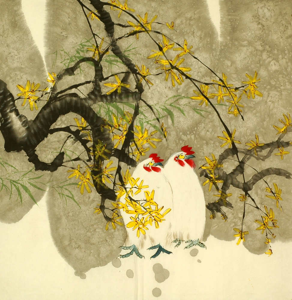 Chinese Chicken Paintings | Chinese Painting Blog