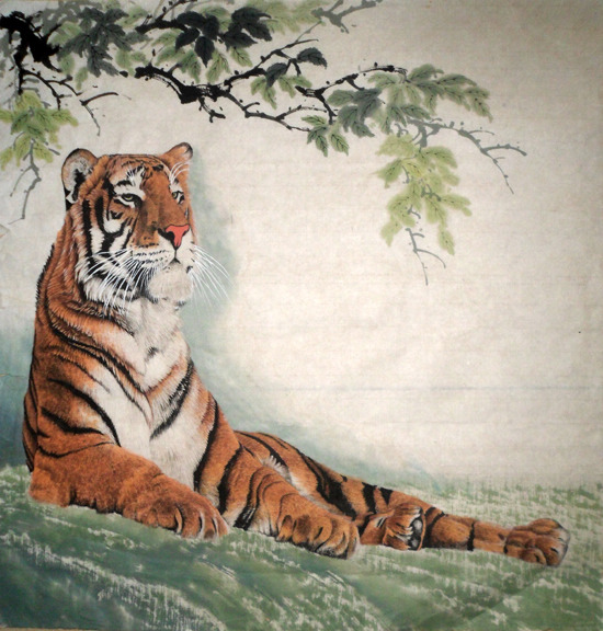 Chinese Painting Tiger Chinese Painting Cnag235208