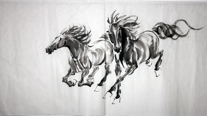 Chinese Painting Horse