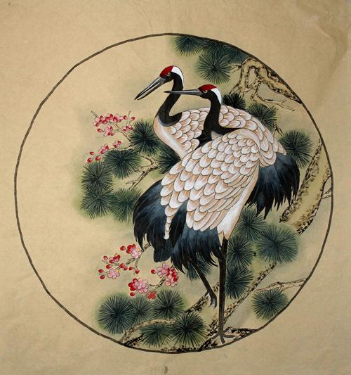 Crane - Chinese Painting