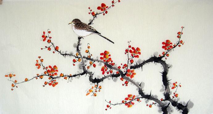 Pinturas de flores chinas imagui - Rosas chinas ...