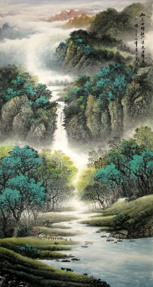 The Origin of Chinese Landscape Painting | Chinese Painting Blog