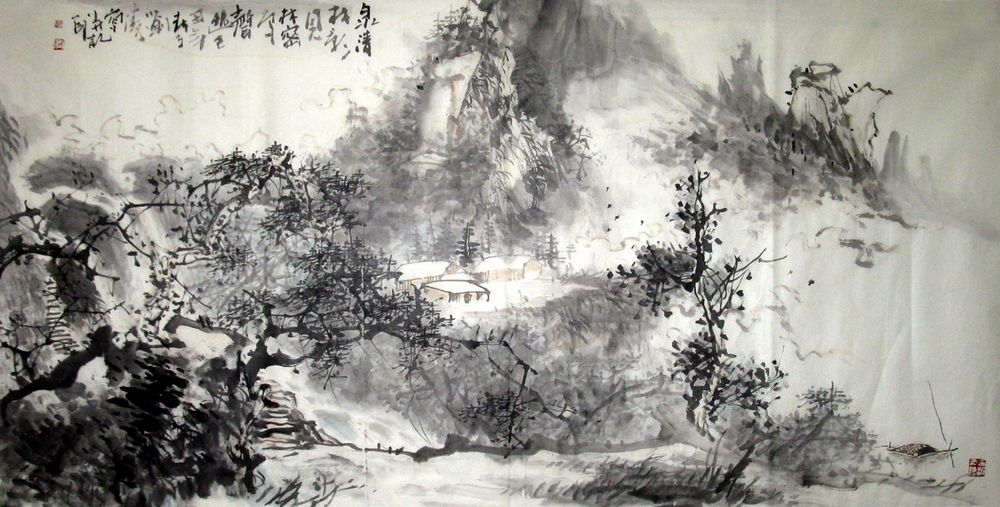Chinese Painting Modes of Expression (One) | Chinese
