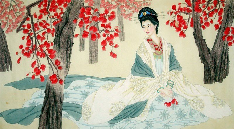 Chinese painting beautiful lady chinese painting cnag241705 chinese painting beautiful lady chinese painting cnag241705 artisoo voltagebd Image collections