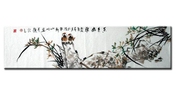 Chinese Birds painting