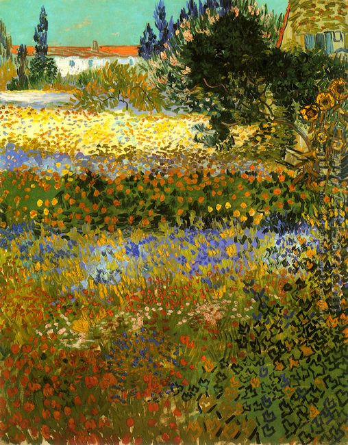 Garden with Flowers I