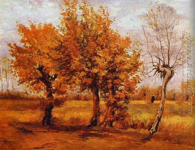 Paysage d'automne 1884