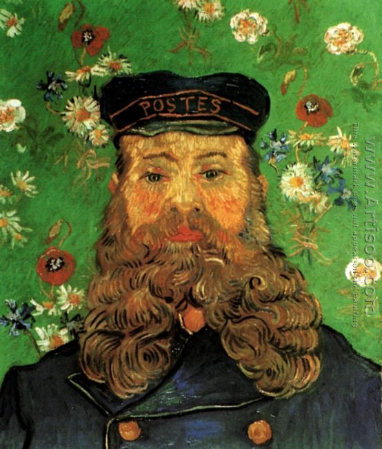 Portrait Of The Postman Joseph Roulin VI