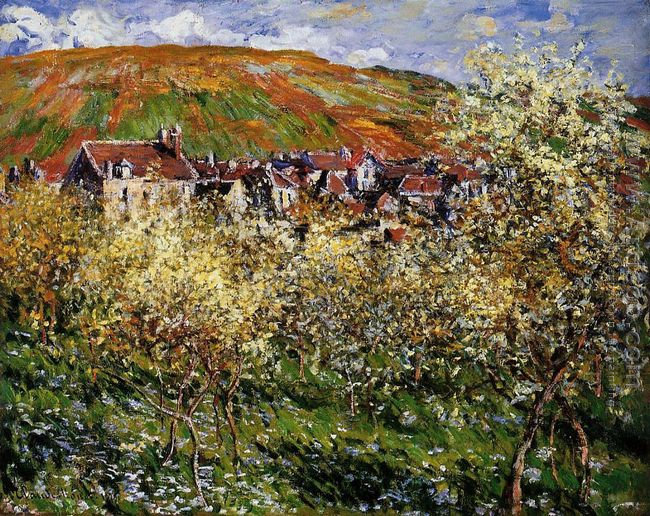 Apple Trees In Blossom