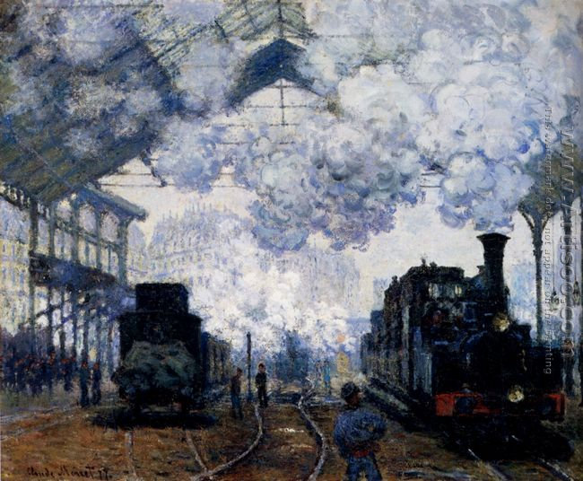 Arrival At Saint Lazare Station