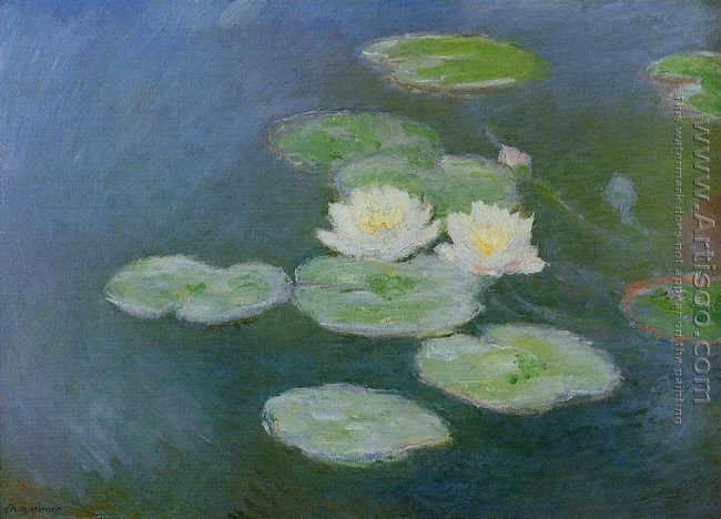 Water-Lilies, Evening Effect
