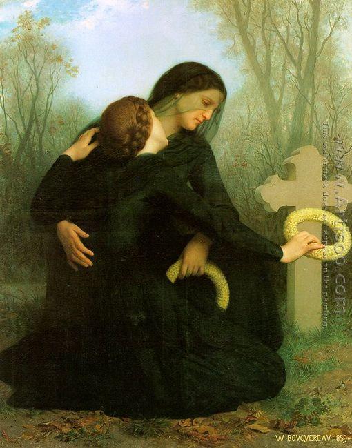 All Saints' Day (Le jour des morts) 1859