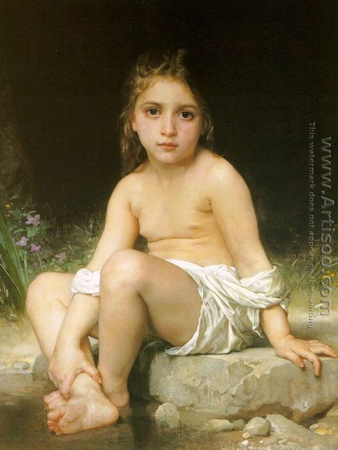 Child at Bath 1886