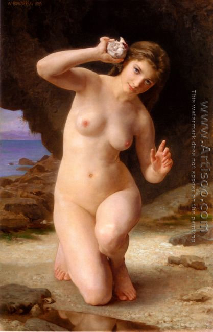 Femme au Coquillage (Woman with Seashell)