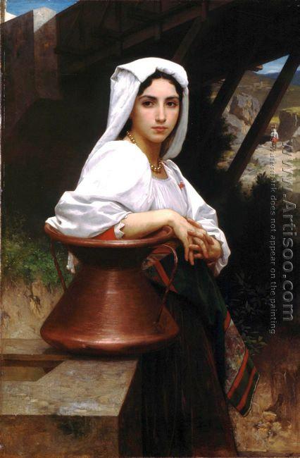 Jeune Italienne puisant de l'eau (Italian Girl Drawing Water)