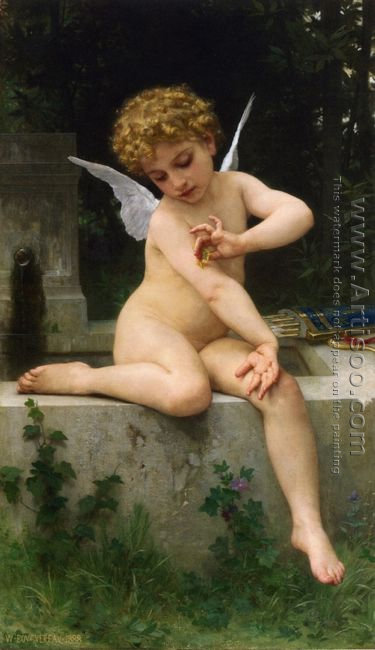 L'Amour au Papillon (Cupid with a Butterfly)