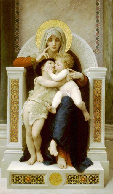 La Vierge, L'Enfant Jesus et Saint Jean Baptiste (The Virgin, t