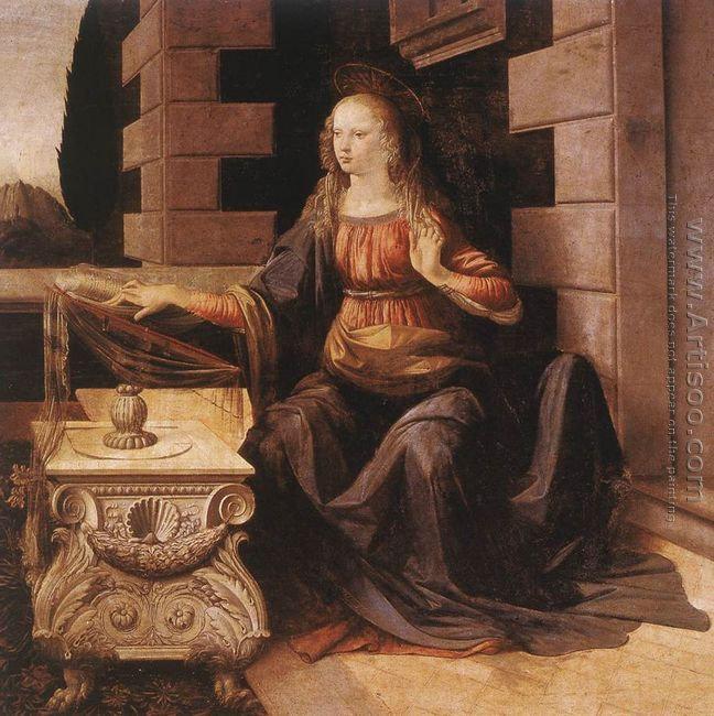 Annunciation (detail 2) 1472-75