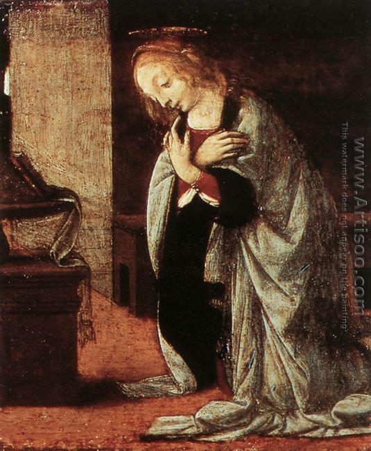 Annunciation (detail 2) 1478-82