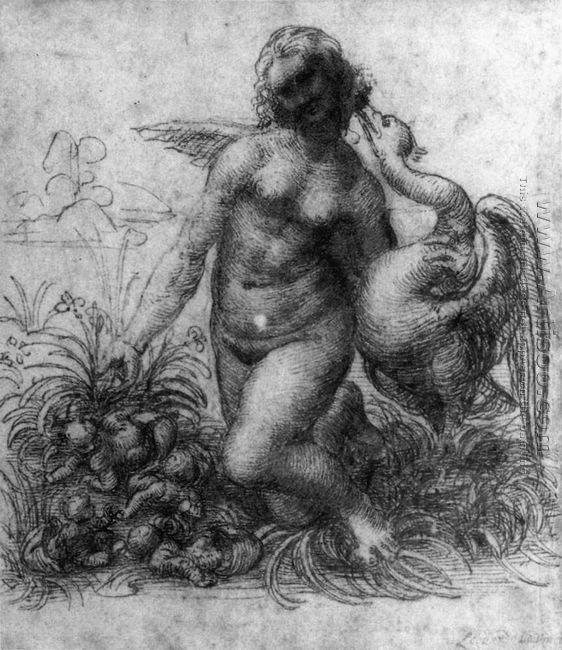 Leda and the Swan 1503-07