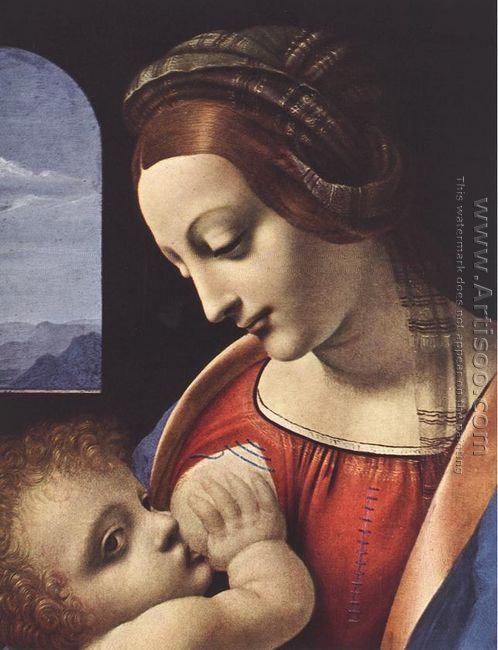 Madonna Litta (detail) c. 1490-91