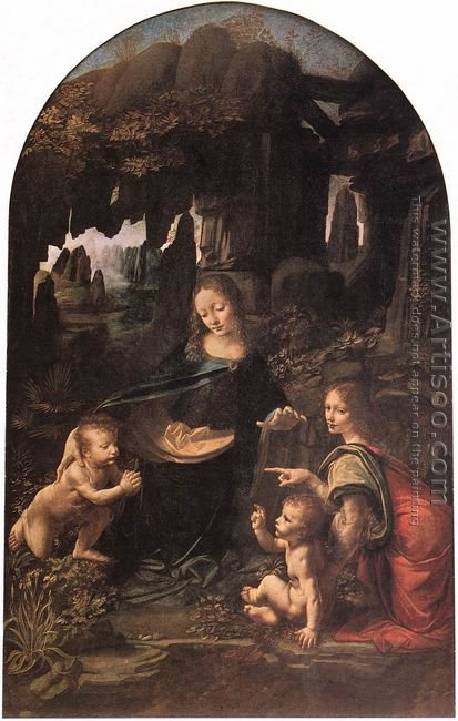 Virgin of the Rocks 1483-86