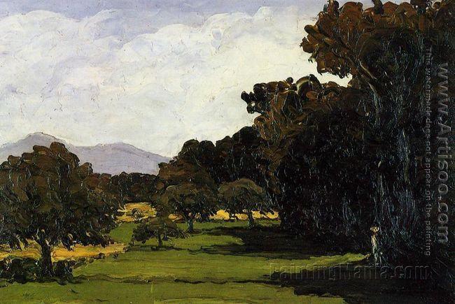 Landscape Near Aix En Provence