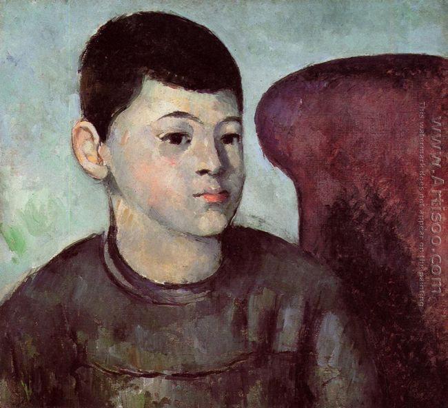 Portrait Of Paul Cezanne The Artists Son
