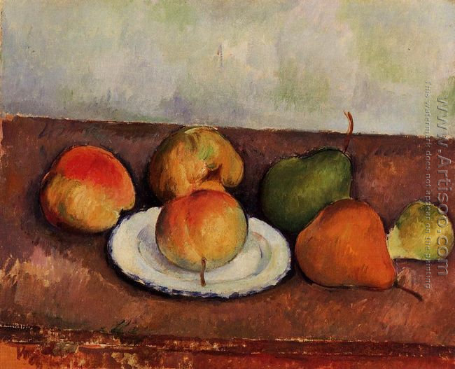 Still Life Plate And Frui