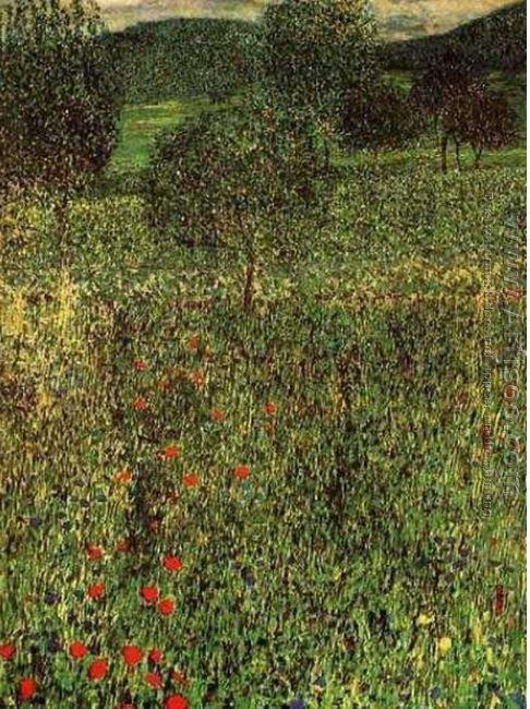 Landscape Of A Garden