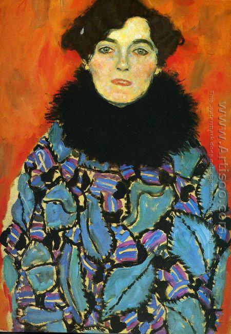 Portrait Of Johanna Staude (unfinished)