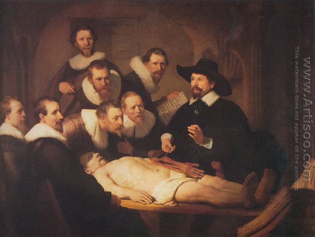 Anatomy Lesson of Dr Tulp