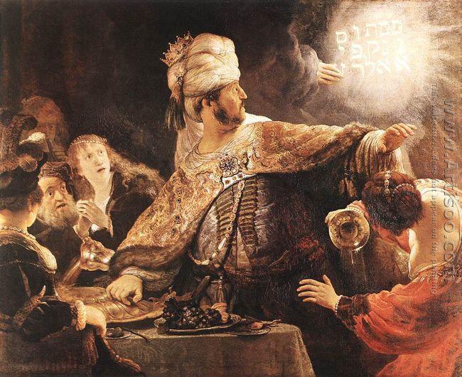 Belshazzar's Feast 1635