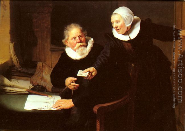 Jan Rijcksen and his Wife, Griet Jans ('The Shipbuilder and his