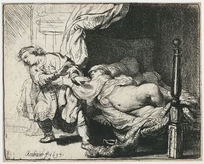 Joseph and Potiphar's Wife 1634