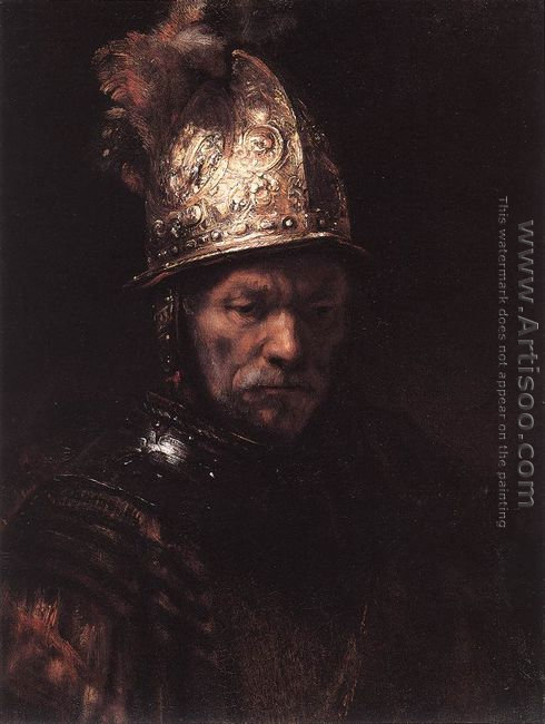 Man in a Golden Helmet c. 1650