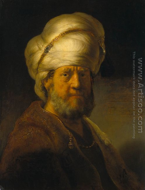 Portrait of a Man in an Oriental Costume