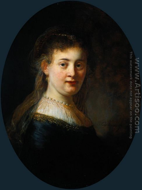 Portrait of Saskia van Uylenburgh (1612-1642)
