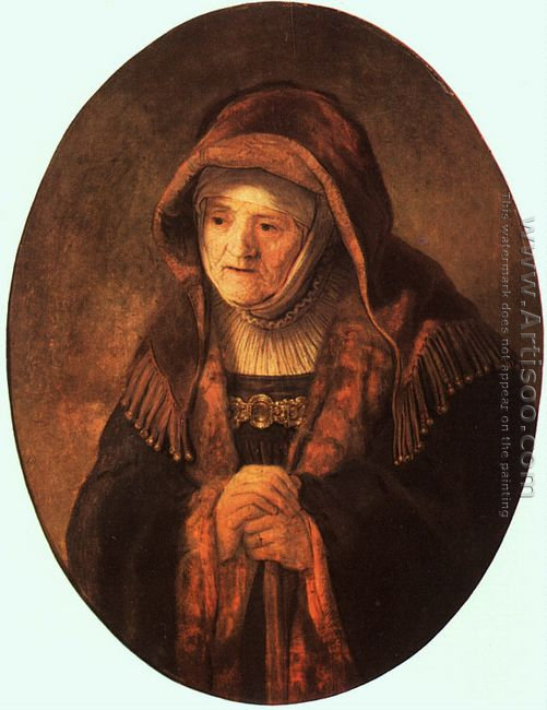 Rembrandt's Mother 1639