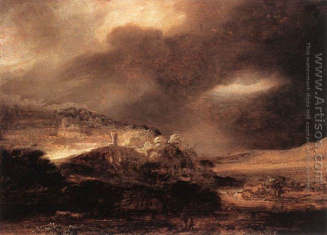 Stormy Landscape c. 1638
