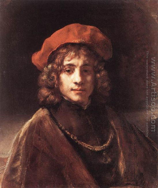 The Artist's Son Titus c. 1657