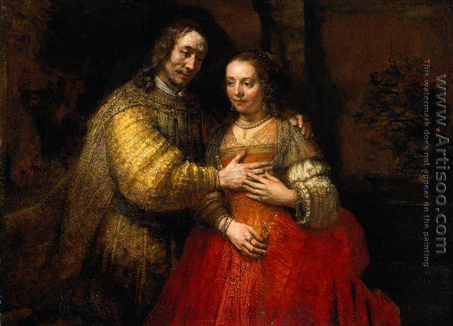 The Jewish Bride c. 1665
