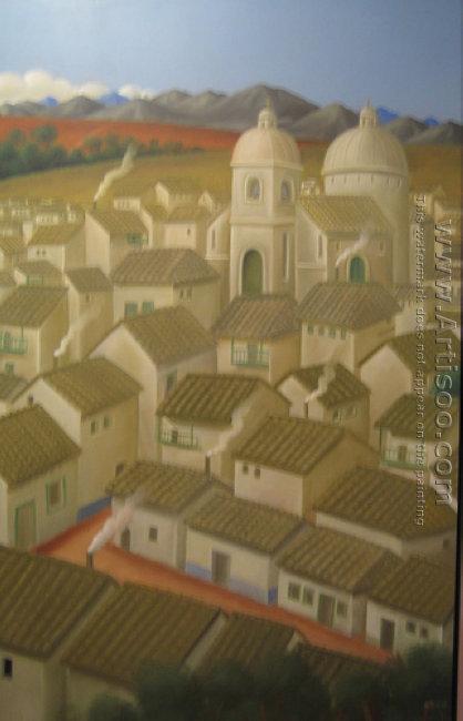 A Town Un Pueblo