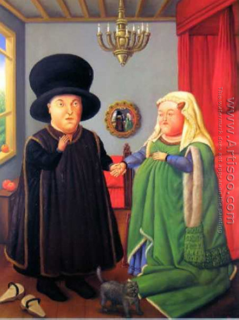 The Arnolfini After van Eyck