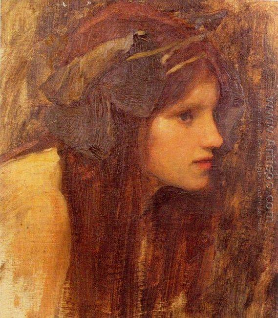 A Naiad, study 1893